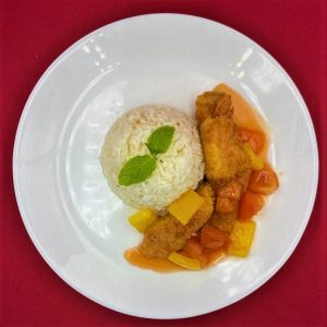 Sweet and Sour Fish Rice